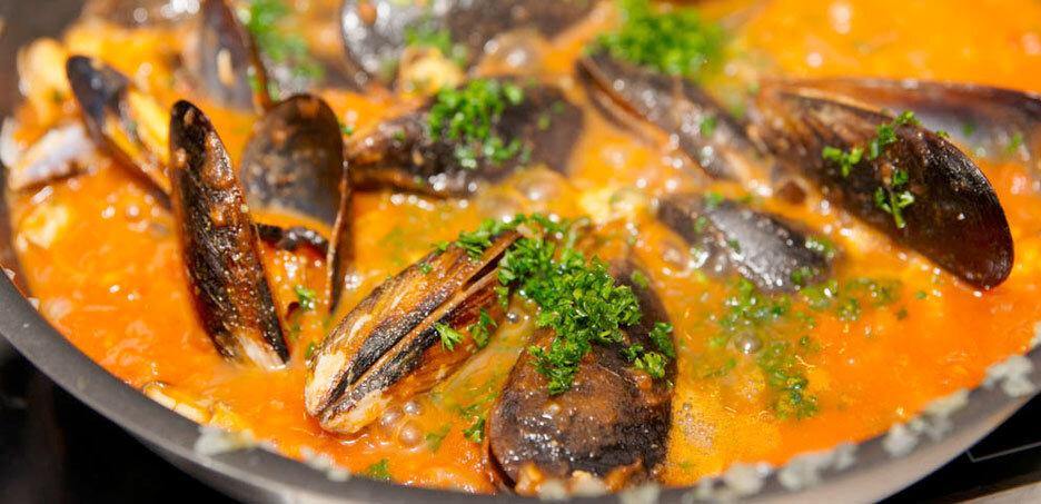 Recetas Mejillones en salsa