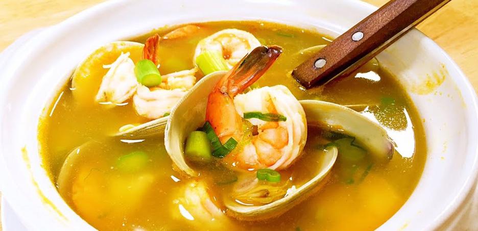 Sopa de marisco